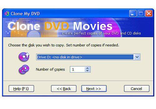 Clone DVD Movies