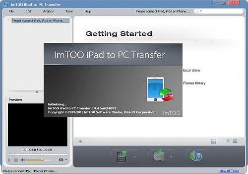 ImTOO Transfert iPad PC