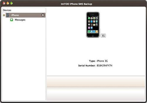 ImTOO iPhone SMS Transfert pour Mac