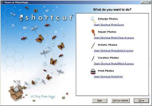 Shortcut download
