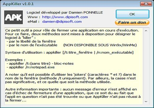 AppKiller v1.0.2