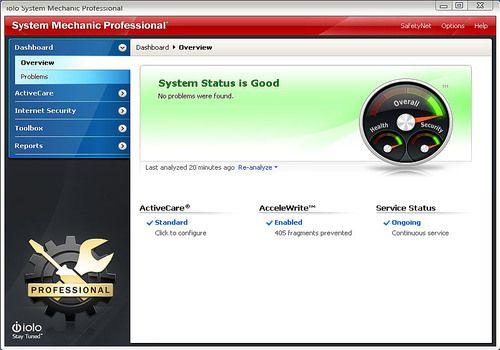 System Mechanic Professional 17.0.1.11