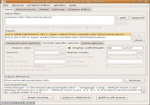MKVToolnixLinux pour Linux