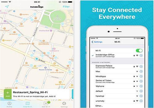 Instabridge Code Wifi Gratuit iOS