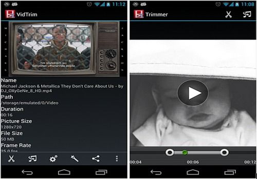 Downloaden Vidtrim Android Google Play