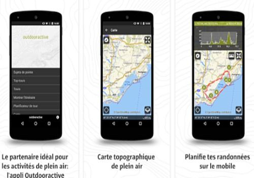 Outdooractive pour Android