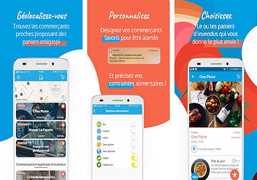 Phenix courses antigaspi à petit prix Android