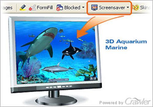 marine screensaver