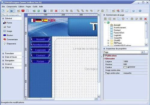 xwebdesignor gratuit