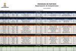 Calendario Copa Libertadores 2019 (fase 1 - fase de grupos)
