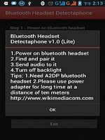 Download Bluetooth Headset Detectaphone 1 01 Android