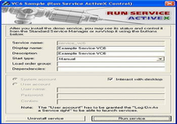 Run Service ActiveX