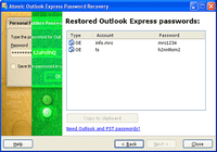 Atomic Outlook Express Password Recovery