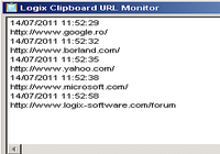 Logix Clipboard URL Monitor