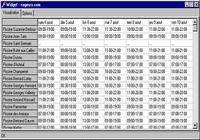 Widget nageurs.com pour Windows