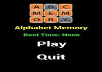 Alphabet Memo