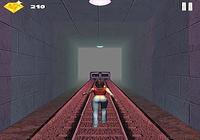 Subway Jumper Girl