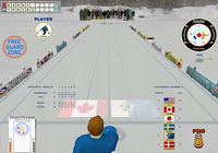 Outdoor Curling Simulation