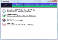 CD DVD HD DVD Blu-ray Burn Suite