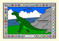 Coloring Book II: Dinosaurs