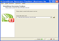 CorelDraw Recovery Toolbox
