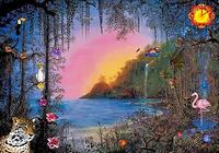 Paradise Sunset Screensaver
