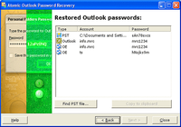 Atomic Pst Password Recovery