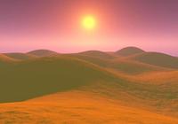 White Desert Screensaver