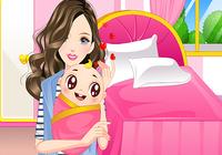 Jeux de filles nouveau-nés
