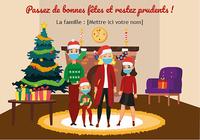 Cartes de Noël spécial 2020