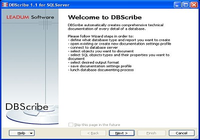 DBScribe for SQL Server