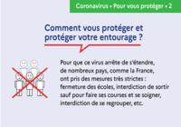Affiche prévention Coronavirus - Comment se protéger ?