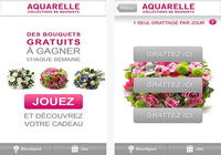 Aquarelle livraison de fleurs Android