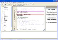 SannySoft Perl Editor