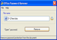 Office Password Remover