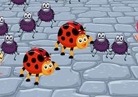 Insectes vers jeu pour enfants