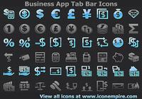 Business App Tab Bar Icons