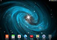 Galaxie fond d'écran animé