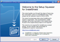 InstallAware Setup Squeezer for InstallShield