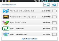 APP EXTRACTION