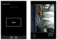CarBlackBox Windows Phone