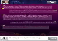 GO SMS Pro Purple theme