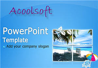Acoolsoft Free PowerPoint Template