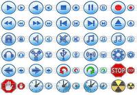 Multimedia Toolbar Icons