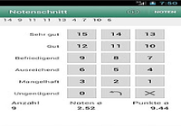 Notenschnitt - Zeugnisrechner