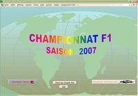 Championnat F1 2007