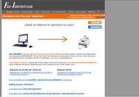 Fax Internet