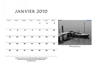 Calendrier janvier 2010