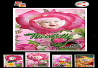Photo Flower Frames
