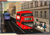 Ville Bus Simulator pilote 3D